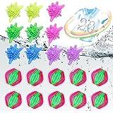 Boule de Lavage, 20 Pièces Boule de blanchisserie Boules de séchoir Balles de Séchage Balle de lavage Machine à Laver Boule,