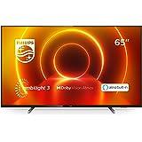 Philips 65PUS7805/12 65-Zoll Fernseher mit Ambilight und Sprachsteuerung (4K UHD LED TV, HDR10+, Dolby Vision, Dolby…