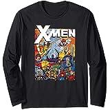 Marvel X-Men Classic Vintage Team Nineties Manche Longue