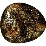 Ópalo natural Koroit, juego de colores, origen australiano, forma elegante, 12,34 quilates, 17 x 16 mm