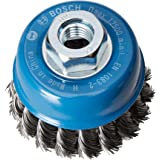 Bosch Professional Pannenborstel staal geknoopte draad voor haakse slijpers (Ø 75 mm) Single