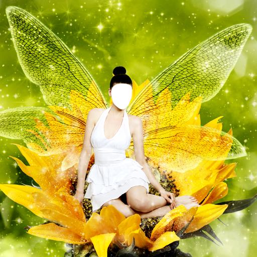 Fairy Dress-Foto-Montage (Fairy Kostüm Fantasy)