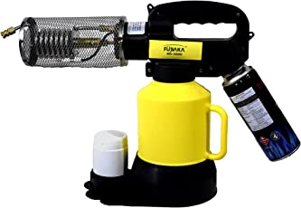 Fujiaka MS 5000 Portable/Mini FOGGER Machine with 2 Litre Tank and 2 Nos. Free Butane Gas Cans