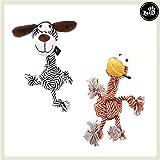 Pets&Partner® Hundespielzeug Kautier Hund oder Giraffe