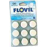 Flovil 62929 9 PASTILLES, Blanc, 14x2x25 cm