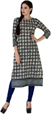 GULMOHAR JAIPUR Women's Cotton Straight Kurta