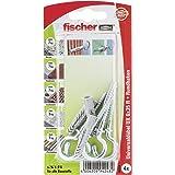 Fischer Universele pluggen UX RH K SBkaart, 4 stuks, 6 x 35 mm, 94248