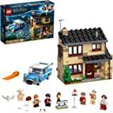 LEGO HarryPotterNúmero 4 de Privet Drive SetconFordAnglia,Figura de Dobbyy FamiliaDursley, Multicolor (75968)