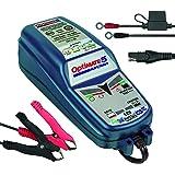 Optimate TM220-4A Tecmate 5 Start-Stop, TM-220, 6-stappen 12V 4A gesloten accu besparende lader & druppellader, optimate 5 st