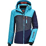 Killtec Glenshee Grls Ski Jckt D Chaqueta funcional con capucha para la nieve Niñas
