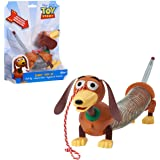 Toy Story 4- Disney and Pixar Story Slinky Dog Jr Pull Toy, 03240, Multicolore, 22.2 x 5.1 x 18.4 cm