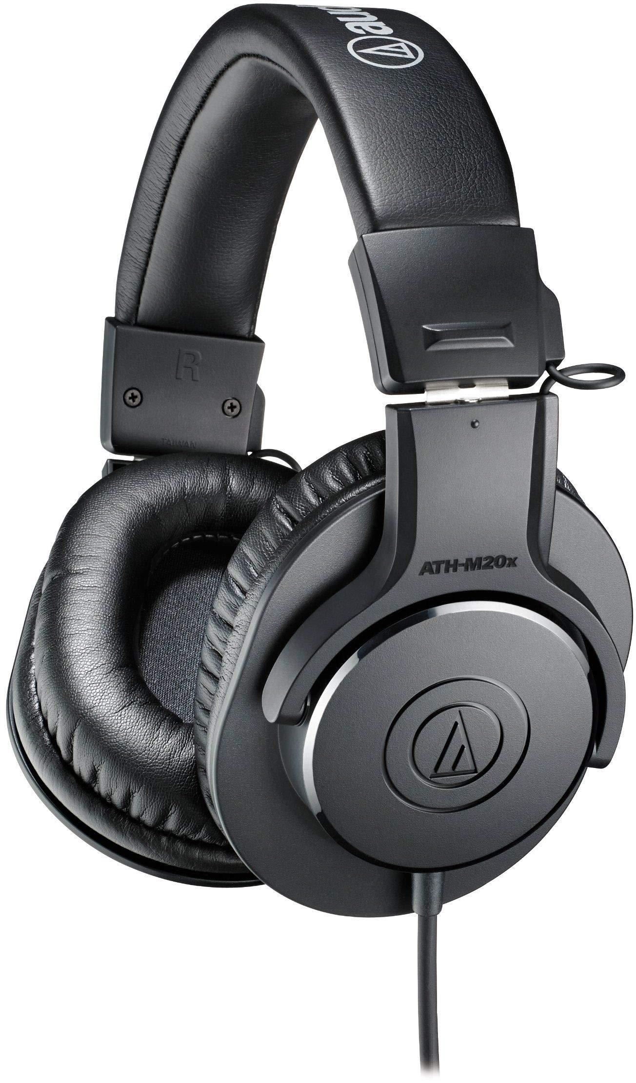 Audio-Technica ATH-M20X Professional Headphones – Black