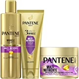 Pantene Pro-V Multinutriente 1 Miracle Shampoo 250ml + 1 Balsamo Capelli 3 Minute Miracle 150ml + 1 Maschera Capelli 300ml, I