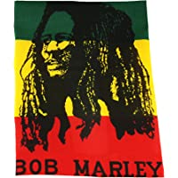 Bandana Rasta 100% Cotton Head Scarf Band BOB Marley in Black