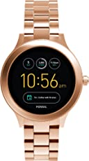 Fossil Damen Smartwatch Q Venture 3. Generation - Edelstahl,