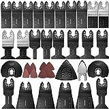 68 Stuks Oscillerende Multitool Zaagbladen Set, Universeel Multifunctioneel Oscillerend Gereedschap Accessoires, voor Fein Mu