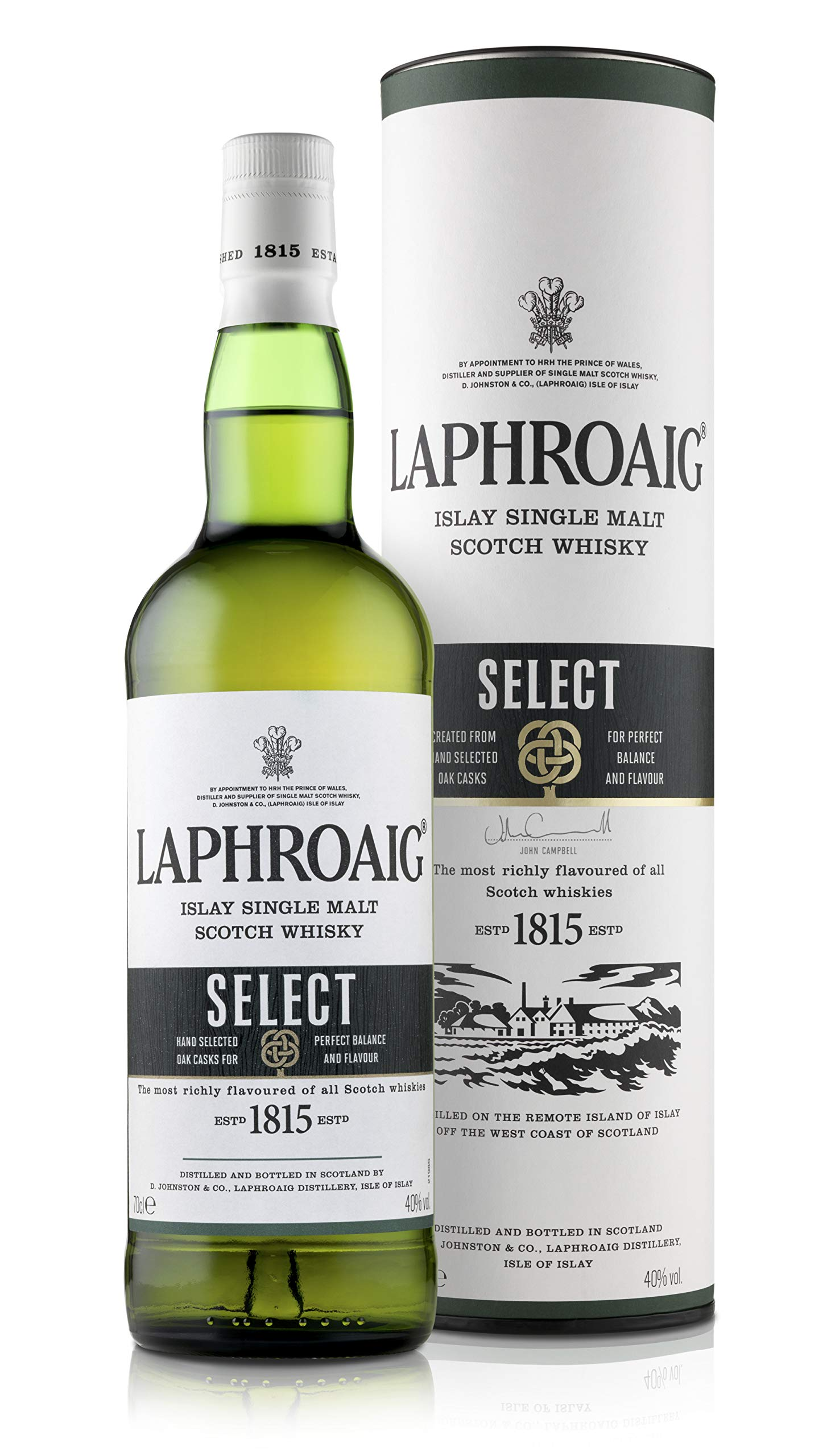 Laphroaig Select Islay Single Malt Scotch Whisky, 70 cl