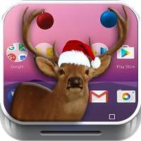 Dancing Reindeer on the screen joke