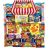 Retro Sweets Gift Box: All Occasion Sweet Shop Hamper Jam Packed with The Best Retro Sweets, 770g