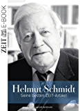 Helmut Schmidt: Seine besten ZEIT-Artikel