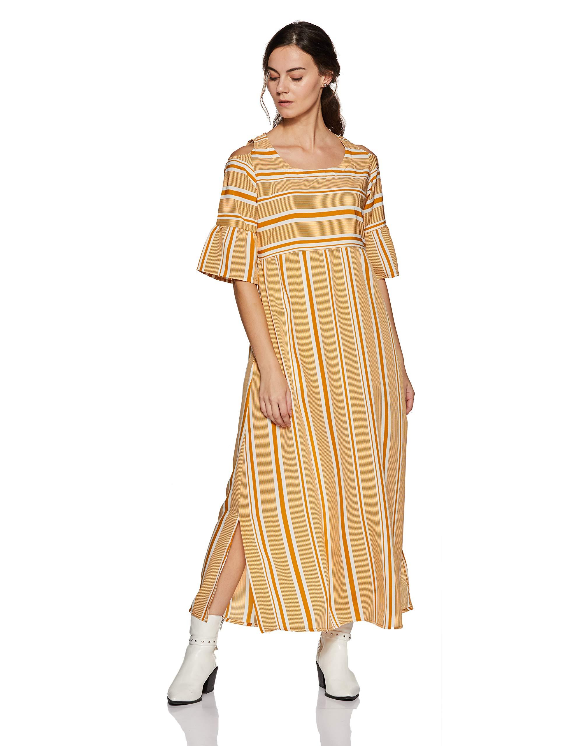 Gerua Women's A-Line Maxi Dress