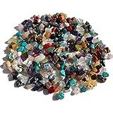 Rhinestone Paradise Edelsteenkralen, natuurlijke vorm, 100 g stenen kralen, 5 mm-15 mm, kwartskralen, zelf sieraden en kettin