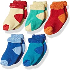 RC. ROYAL CLASS SOFT ANKLE COTTON CUSHION SOCKS FOR KIDS(0 - 8 YEARS) (PACK OF 5 PAIRS)