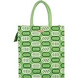 ECOTARA Jute Lunch Bag for Men & Women with Bottle Holder- Green