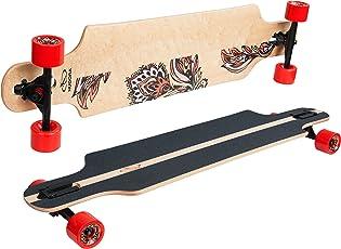 HUDORA Longboard Waikiki - ABEC 7 - Skateboard - 12806