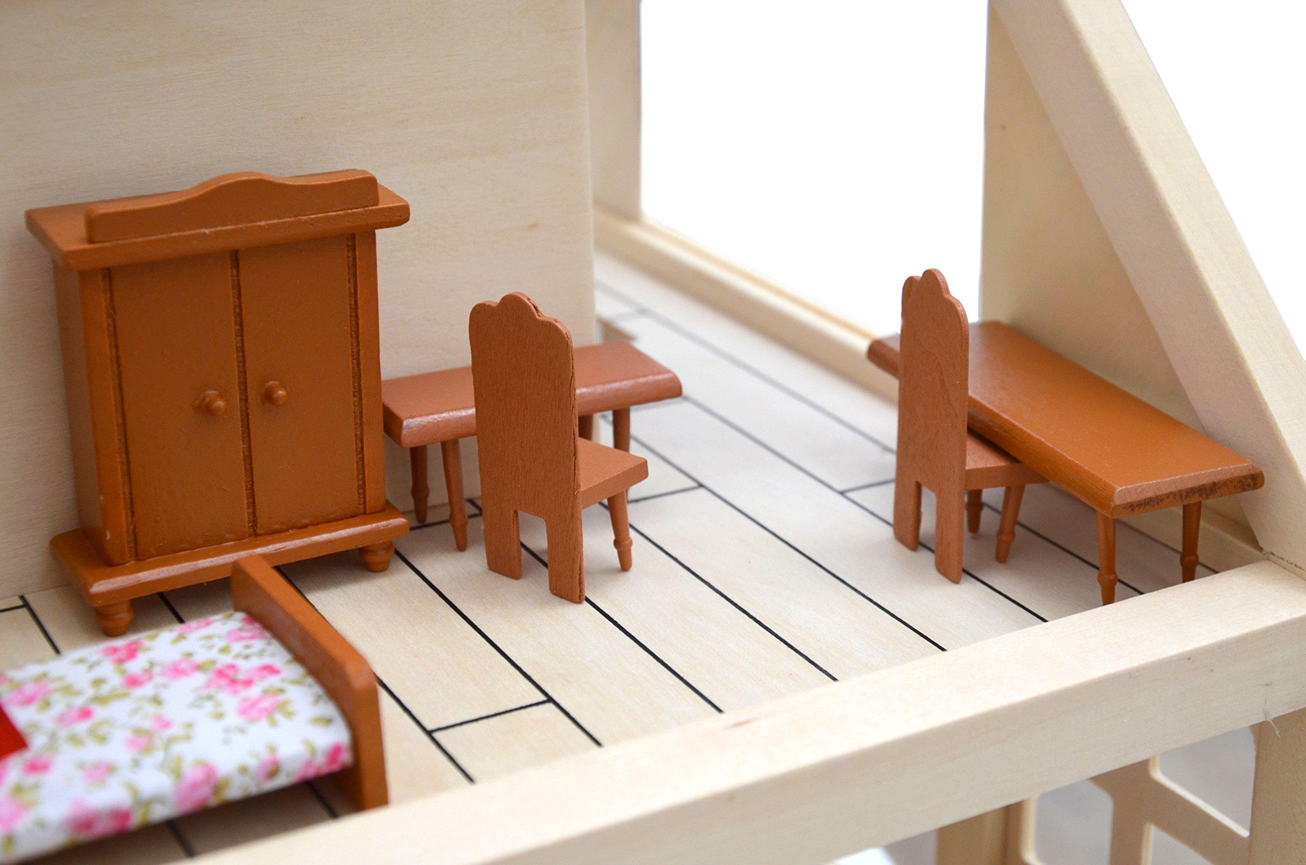 Eyepower Set di Mobili in Miniatura per Casa delle Bambole ...
