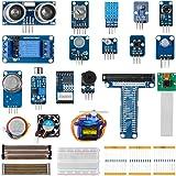 LABISTS Kit de Módulos de Sensores con 15 Proyectos, 8 Sensores para Principiantes y Profesionales DIY, Compatible con Raspbe