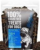 Fish Grain Free Dog Training Treats - 1000 Tasty Treat Pack - Packed With Omega 3,6,9 & D3 - 80% Fish, 20% Potato…