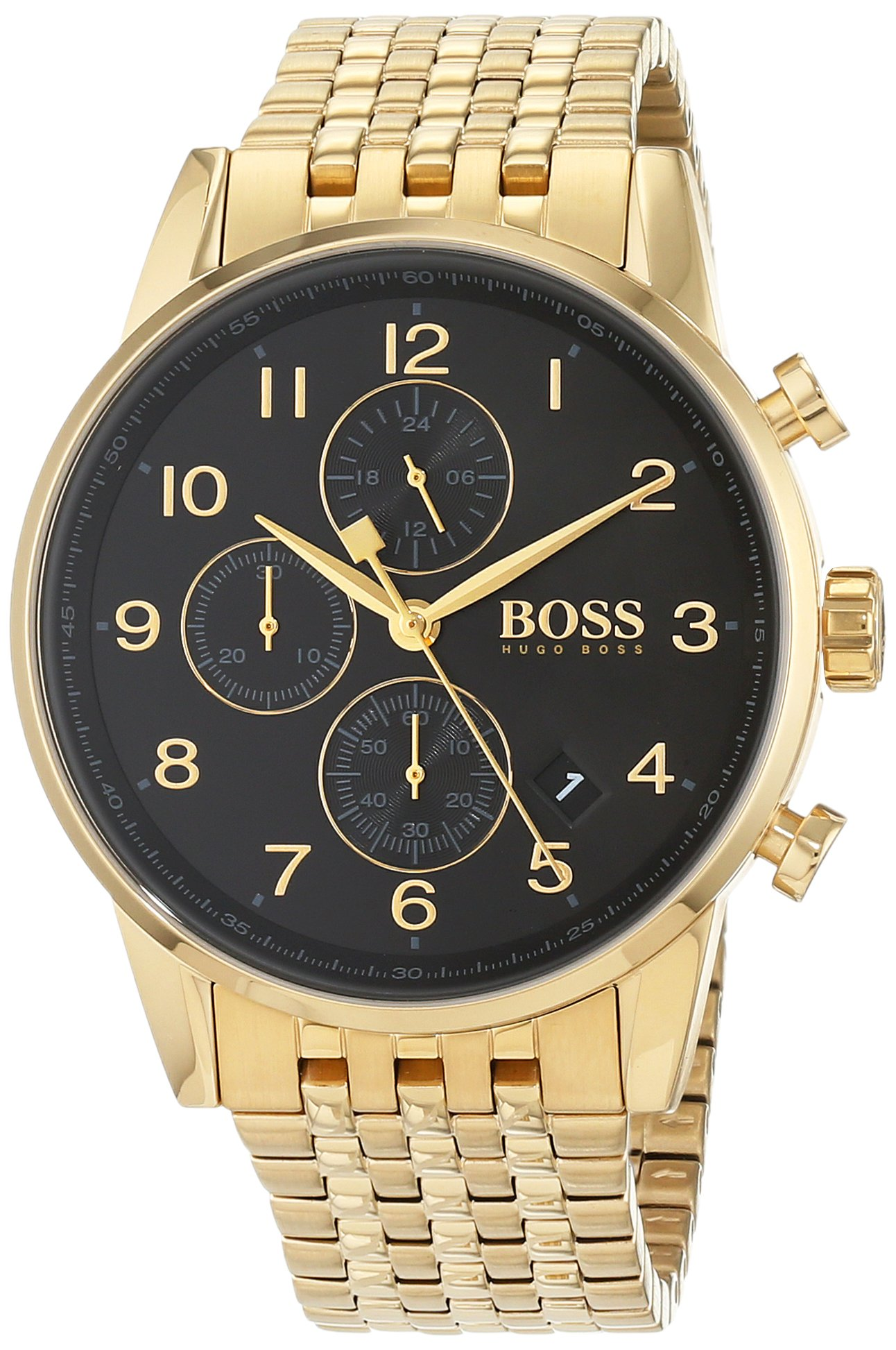 Hugo Boss Mens Chronograph Quartz Watch with Stainless Steel Strap 1513531