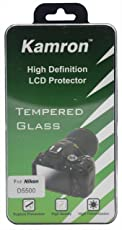 Kamron High Definition LCD Protector Tempered Glass for Nikon D5300/D5500/D5600