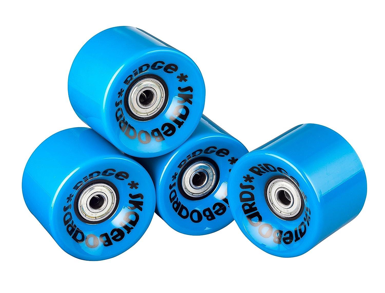 Ridge skateboards cruiser skateboard wheels black 59 mm amazon co uk sports outdoors