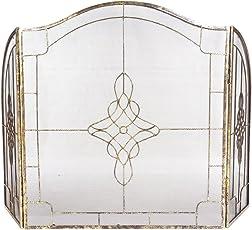 Deluxe Art Deco Vintage Kamin Bildschirm/Kamingitter/Funkenschutz U2013  Großartige Art Deco Design Macht