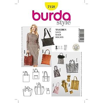 Burda Schnittmuster 7223 Taschen,Bags,Sacs,Bolsos: Amazon.de: Küche ...