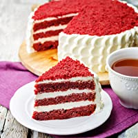 Ferns N Petals Creamy Red Velvet Cake Half Kg | Birthday Cake | Fresh Cake | Cream Cake