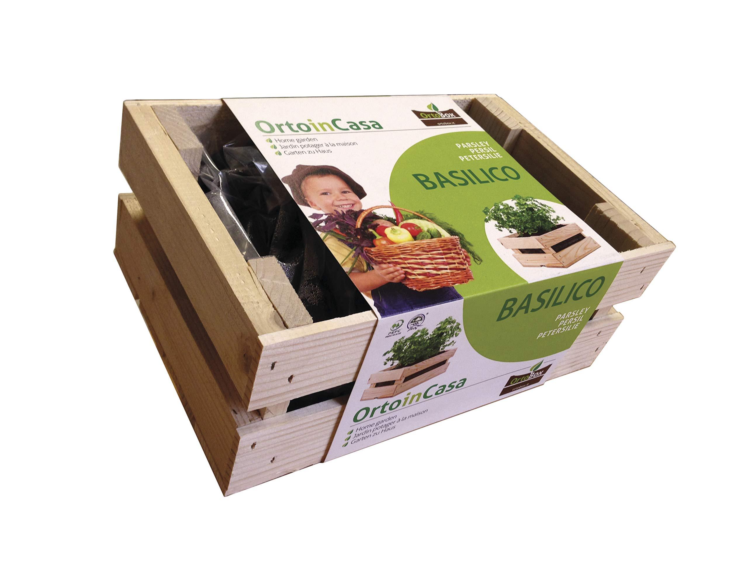 Kit per orto sul balcone basilico il tuo orto urbano orto box