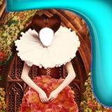 Mittelalterliche Kleid Foto Montage