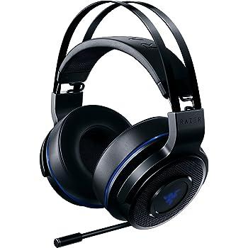 Razer Thresher 7.1 Casque Gamer sans fil pour Playstation 4 (PS4) Casque Gamer, Dolby Headphone avec son Surround 7.1 & Microphone numérique rétractable