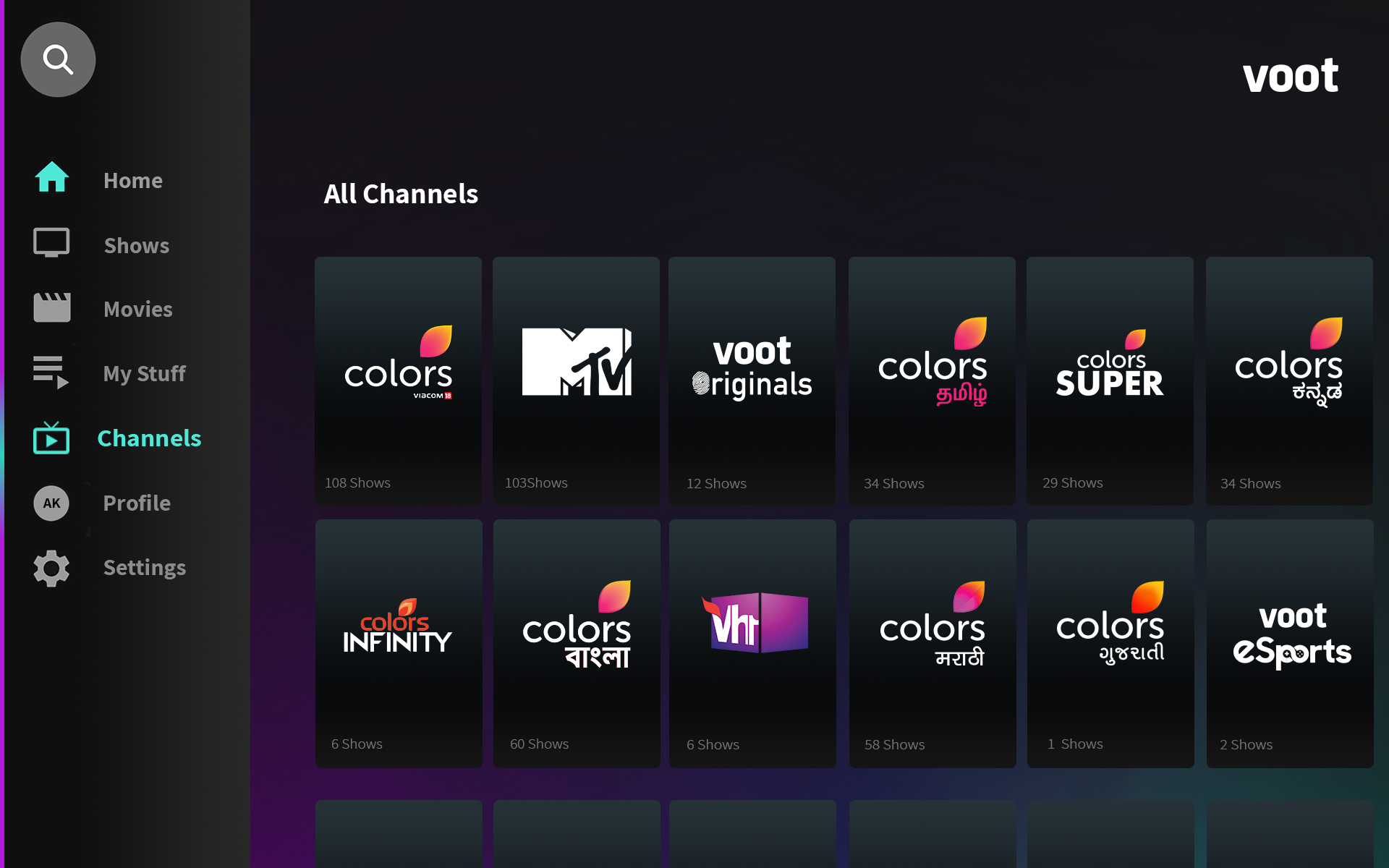 voot app download colors tv app download free full version