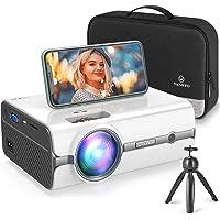 Videoprojecteur WiFi, VANKYO Supporte 1080P Full HD Projecteur Retroprojecteur Multimédia Home Cinéma Compatible avec…