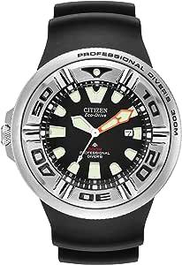 Citizen Orologio Analogico Quarzo Uomo con Cinturino in Gomma BJ8050-08E