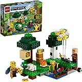 LEGO21165MinecraftLaGranjadeAbejas,SetdeConstrucciónconFigurasdeApicultorayOveja,Jugueteparaniñosyniñas+