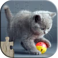 Cute Cat Puzzles for Kids - Free Trail Edition - Fun and Educational Jigsaw Puzzle Learning Game for Kids and Preschool Toddlers, Boys and Girls 2, 3, 4, or 5 Years Old