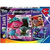 Ravensburger Trolls Puzzle 3 x 49 Piezas, Color (05081)