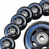 Jaspo Play Grip XX Inline 72 mm Wheels (Set of 8 pc.)