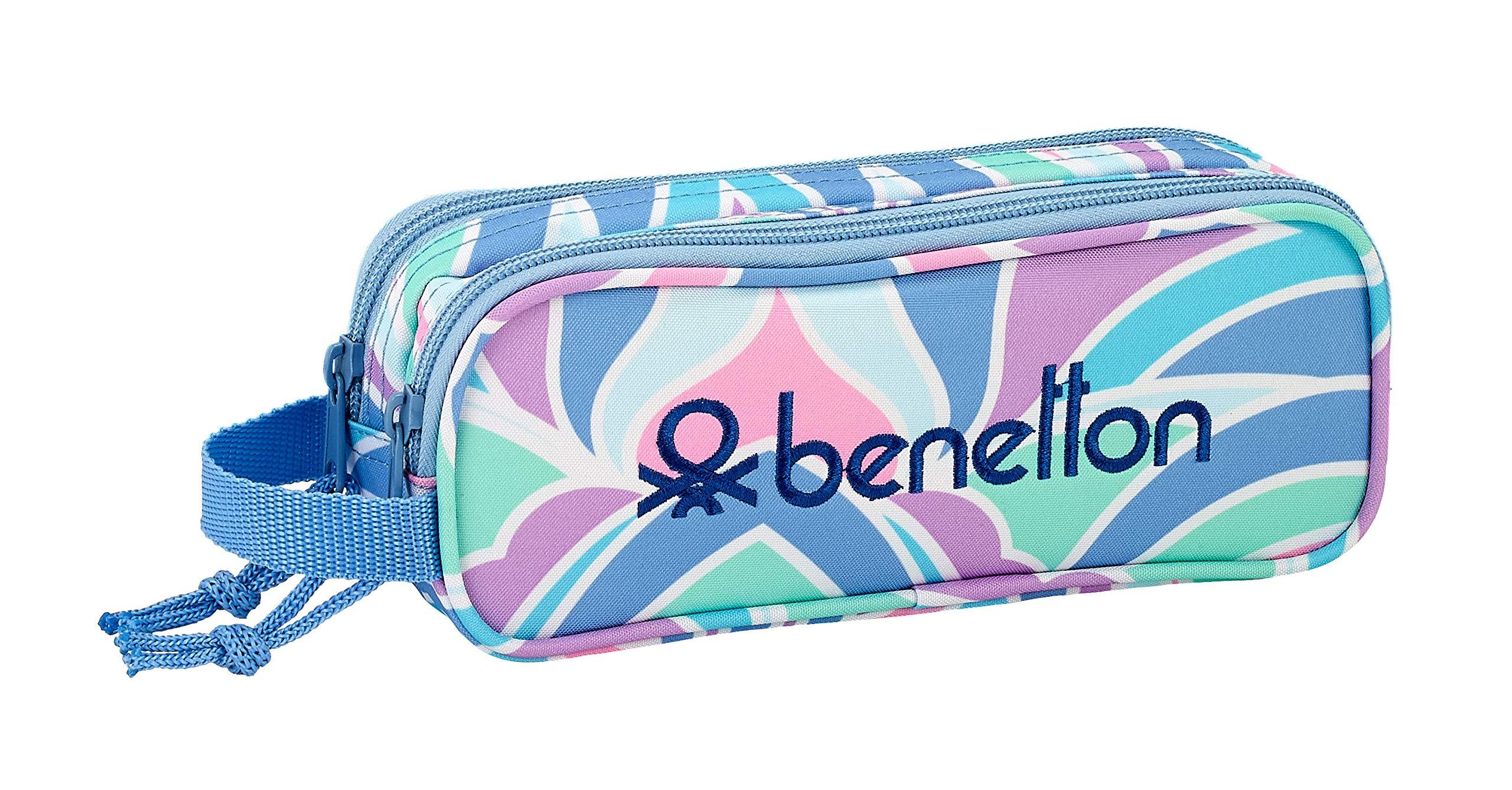 Benetton «Arcobaleno» Oficial Estuche Escolar 210x60x80mm