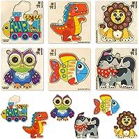 Quokka Puzzle Animaux Enfant 2 Ans, Jouets Enfants 2-4 Ans en Bois pour Garçon et Fille, Jeux Educatif Enfant 2 Ans